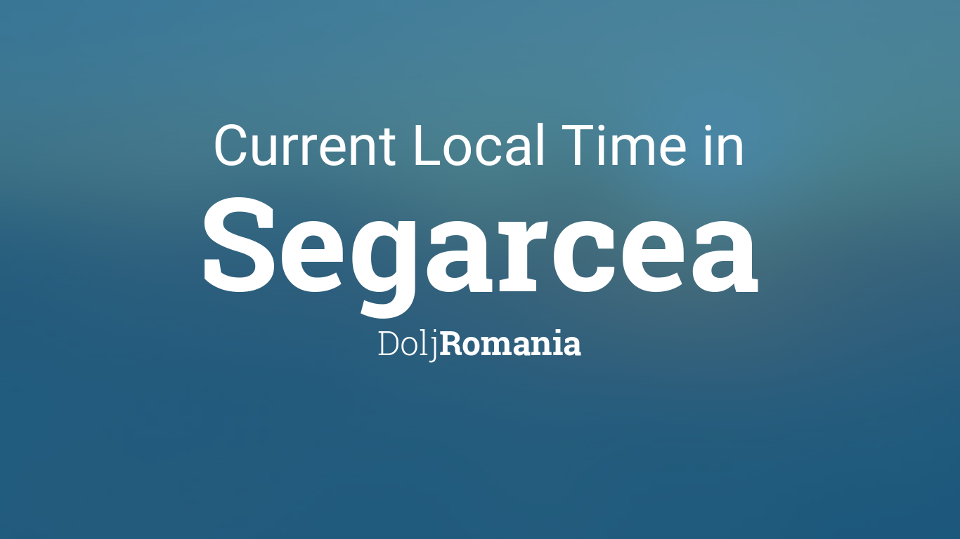 Vremea în Segarcea, Dolj